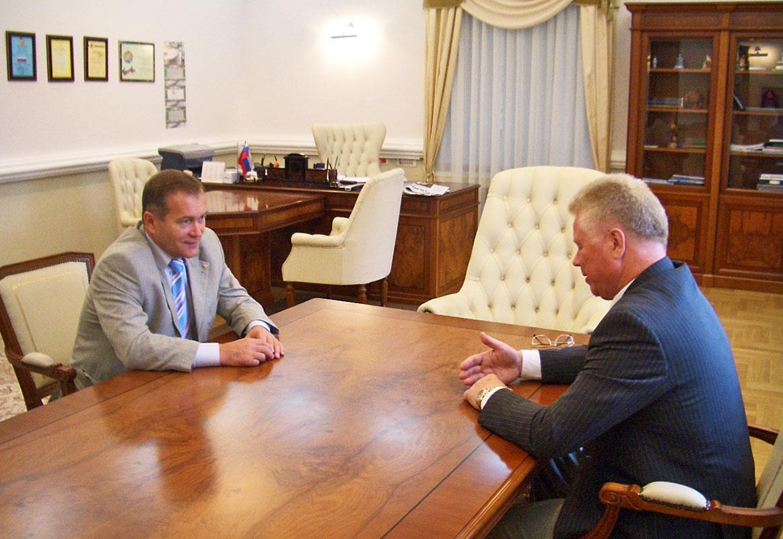 Информация о встрече с председателем Роспрофжела Николаем Никифоровым