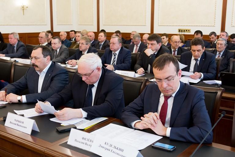 Встреча Министра транспорта РФ М.Ю. Соколова с членами Союза транспортников России