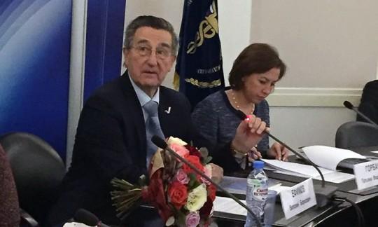 Президент Союза транспортников России Ефимов Виталий Борисович.