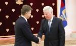 Министр транспорта Соколов М.Ю. и президент Ассоциации Промжелдортранс Кукушкин А.И.