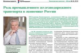 15.11.18. к Новости СРО (интервью Кукушкина)