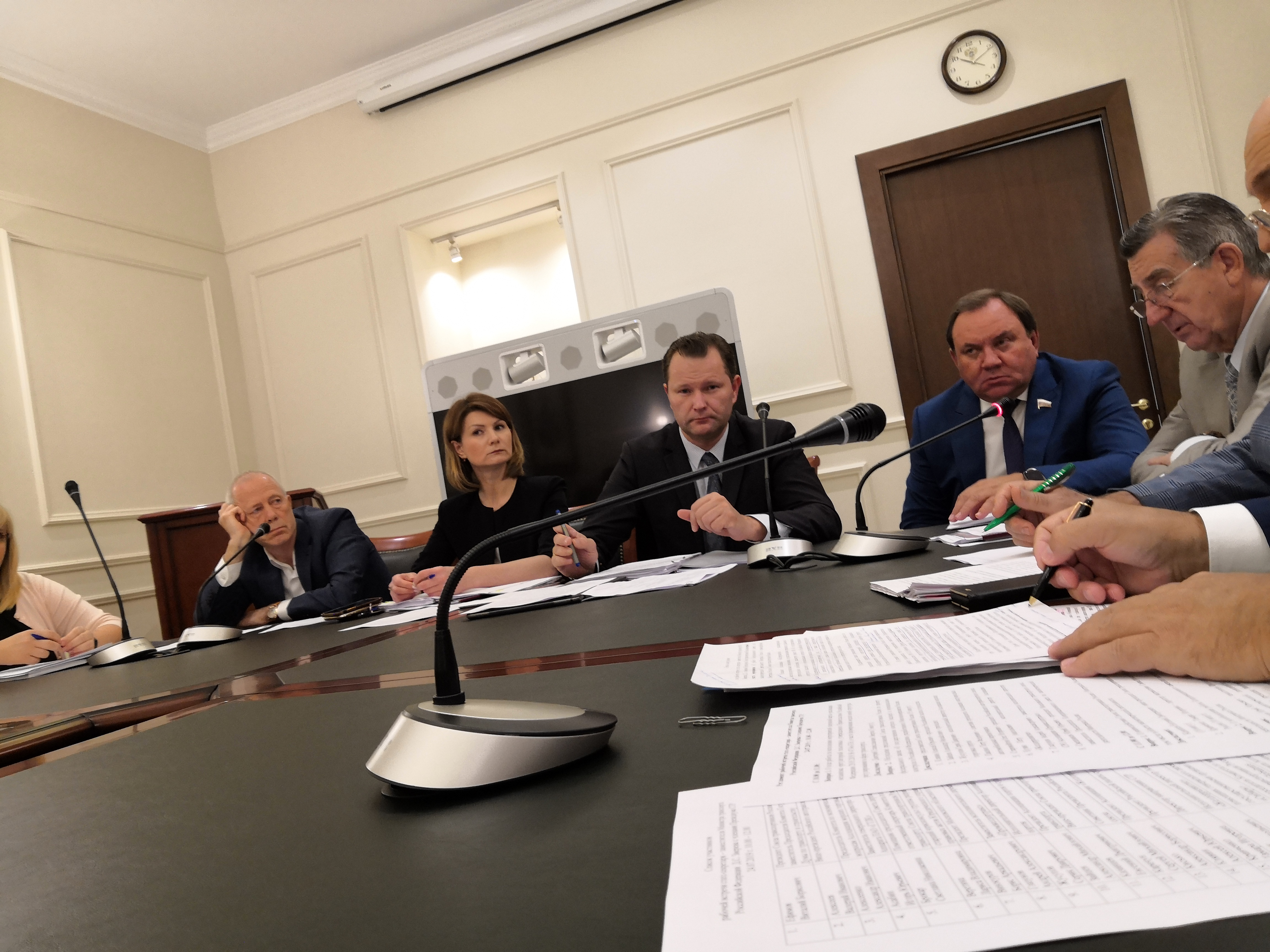 Рабочая встреча статс-секретаря — заместителя Министра транспорта Российской Федерации Д.С. Зверева с членами Президиума СТР.