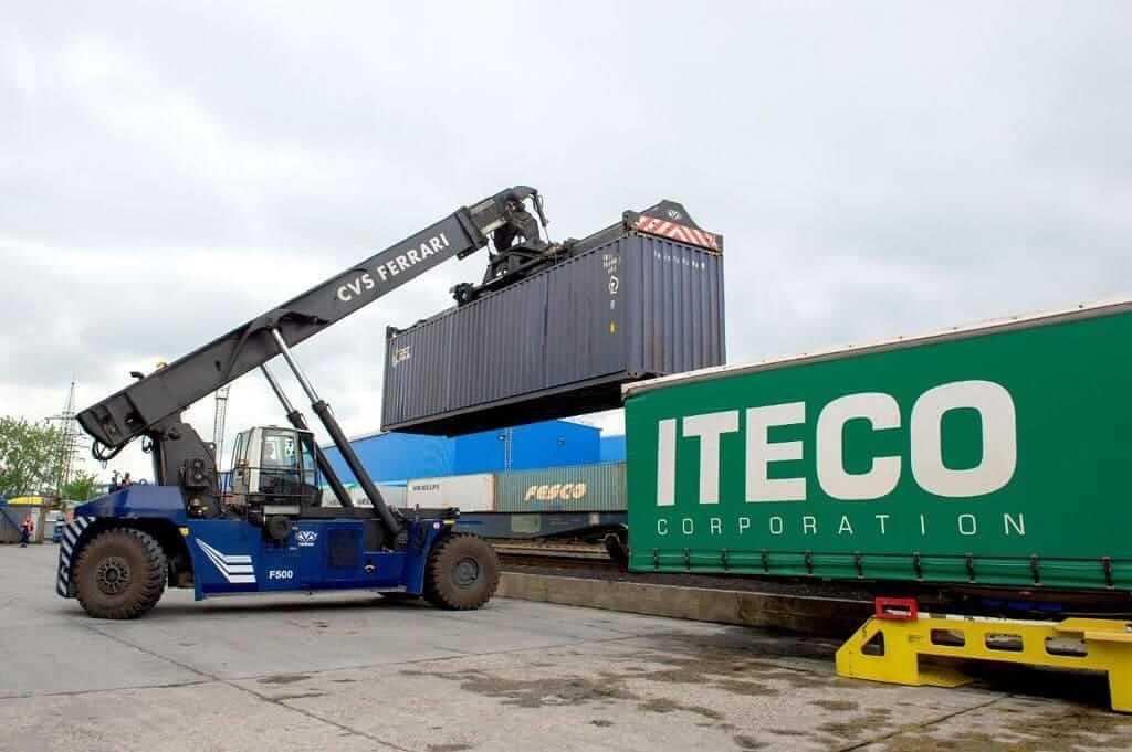 На Подольском ППЖТ открыта вторая очередь контейнерного терминала.